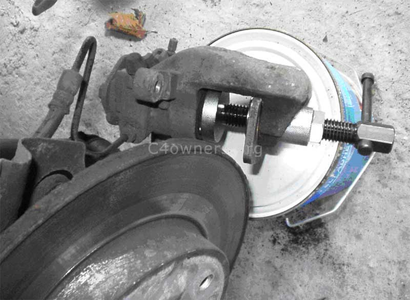 how to change rear brakes